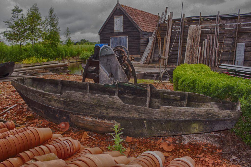 Historische Tuin Aalsmeer, in HDR-kleur